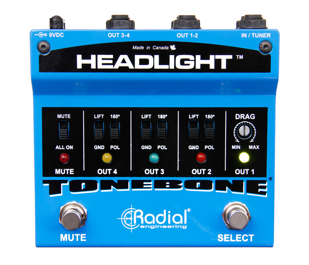 Radial Engineering Tonebone Headlight Guitar Amp Selector