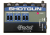 Radial Engineering Tonebone Shotgun With Leds Instrument Buffer & Splitter