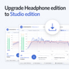 Sonarworks UPGRADE Headphone to Studio edition - boxed