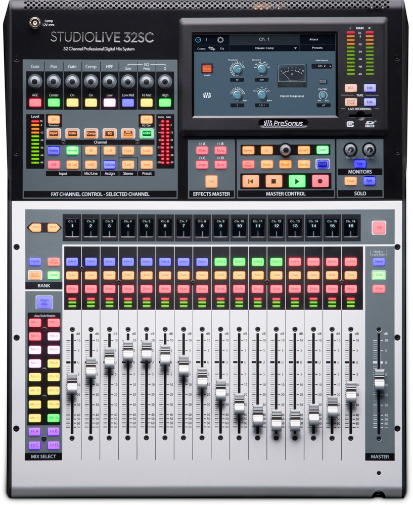 Presonus StudioLive 32 SC console