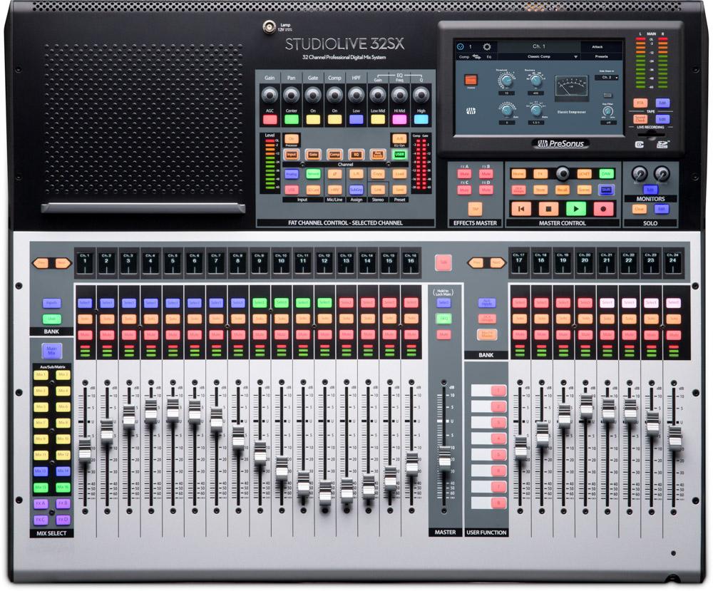 Presonus StudioLive 32 SX console [Free HD9/HP4 Pack*]