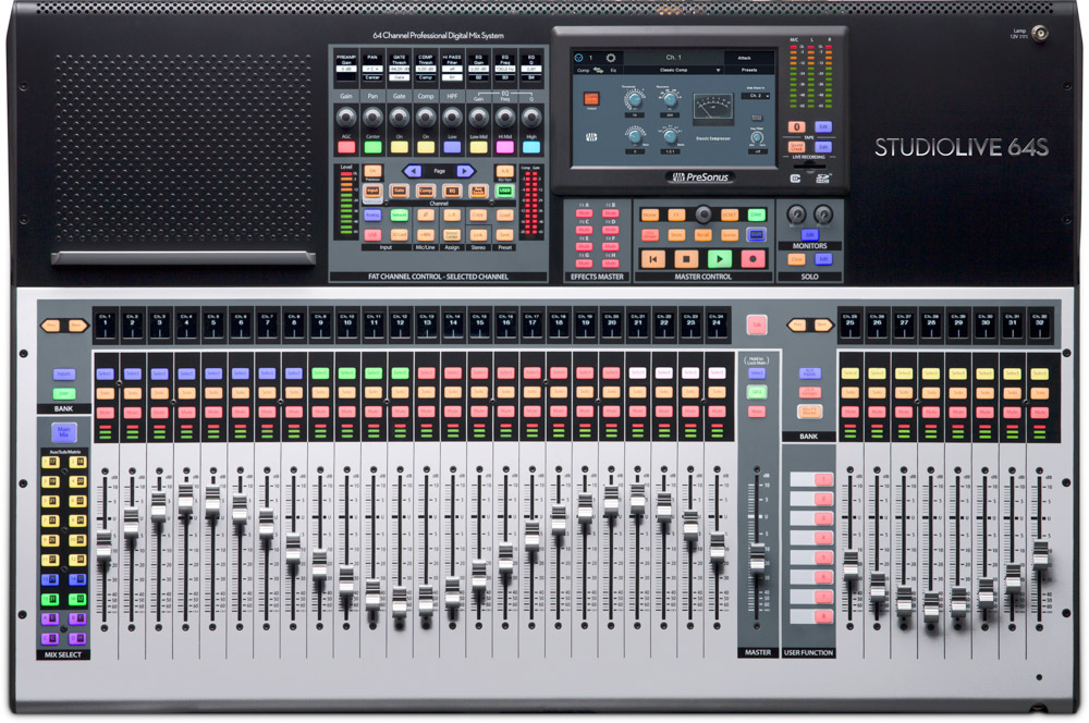 Presonus StudioLive 64 S console [Free HD9/HP4 Pack*]