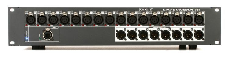 Soundcraft MSB16i Mini Stagebox 16i