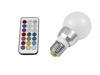 Omnilux LED A60 230V 5W E27 multicolor RC