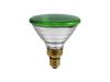 PAR-38 230V/80W E-27 FL green