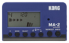 Korg MA-2-BLBK Metronome, Blue and black.