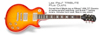 Epiphone Les Paul Tribute Plus 60s Outfit Faded Cherry Sunburst CF