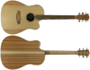 Cole Clark Fat Lady 1 Bunya/Queensland Maple CW LH