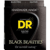 DR Strings BLACK. 7 String Lite