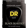 DR Strings BLACK. 7 String Med Heavy