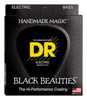 DR Strings Black Coated Bass 40-100