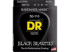 DR Strings BLACK. Taper Heavy