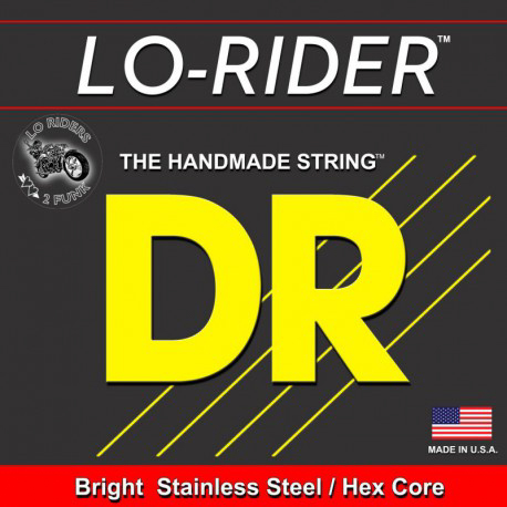 DR Strings Lo Rider Medium 6's 30-130