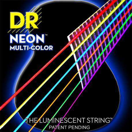 DR Strings Multi-Color Coated Medium 12-54
