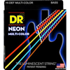 DR Strings Multi-Color Coated Bass Medium 45-105