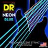 DR Strings NEON Blue Electric Guitar Strings Heavy 11-50