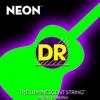 DR Strings NEON Green Acoustic Guitar Strings Medium 12-54
