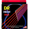 DR Strings Neon Red Acoustic Lite 10-48