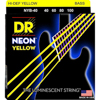 DR Strings Neon Yellow Bass Lite