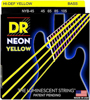 DR Strings Neon Yellow Bass Medium 45-105