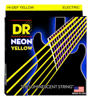 DR Strings Neon Yellow Electric 7 String Lite 9-52