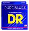 DR Strings PURE BLUES - Quantum-Nickel Bass Heavy 50-110
