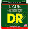DR Strings RARE Acoustic Bass Medium 5's 45-125