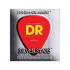 DR Strings SILVER STARS Bass Medium 6's 30-125