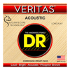 DR Strings Veritas Phosphor Bronze Acoustic Guitar Strings Custom Light