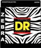 DR Strings ZEBRA - Acoustic-Electric Lite - Medium 11-50