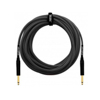 Orange 10 ft Instrument Cable Black