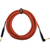 Orange 20 ft Instrument Right Angle Cable