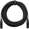 20 ft Mic XLR/XLR Cable BLK
