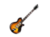 Supro Hampton Flame Maple Tobacco Burst