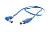 AC cable blue (2,5-2,5), 50 cm