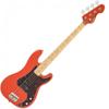 Vintage V4 Bass Firenza Red