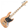 Vintage VJ75 5 STRING BASS - MAPLE FB - NATURAL