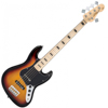 Vintage VJ75 5 STRING BASS - Sunset Sunburst