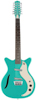 Vintage 12-string Guitar Dark Aqua