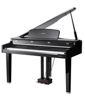 CGP220W Digital Concert Grand Piano Ebony Polish