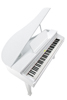 KAG100 Digital Grand Piano White