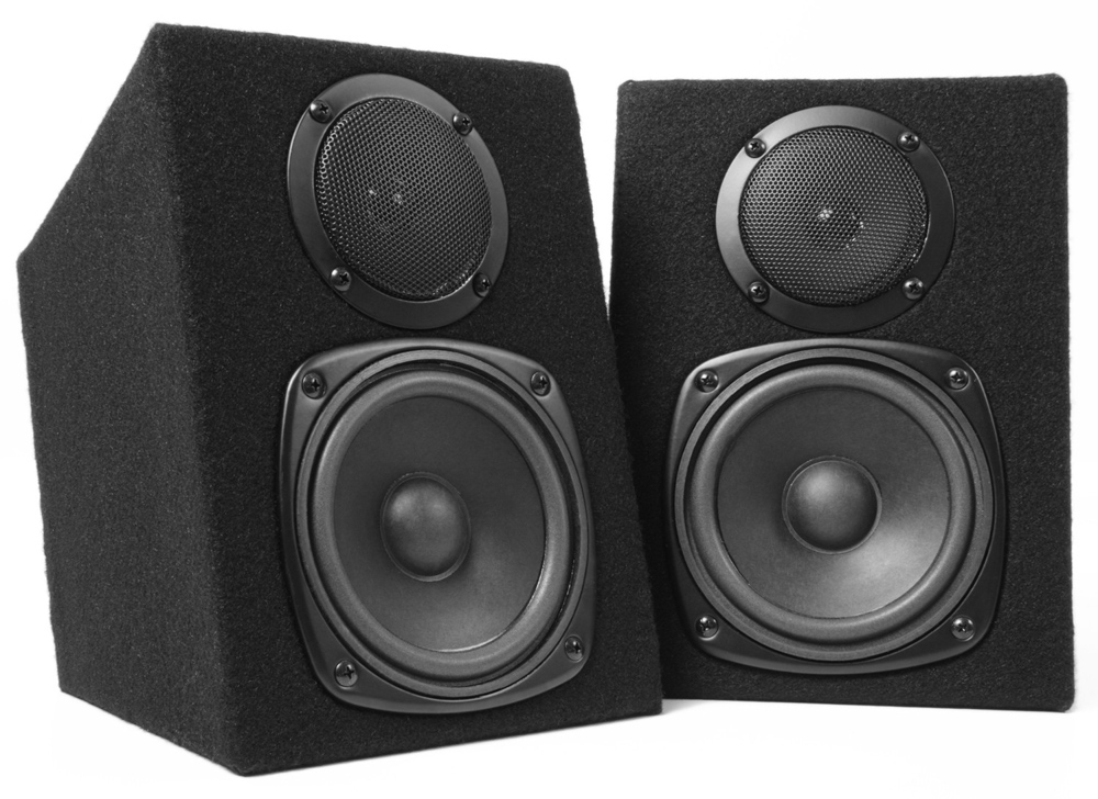 Fenton DJ Monitor Speaker Pair