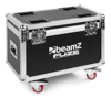 Beamz FCFZ4 flightcase Fuze for 4pcs Moving Heads wheels