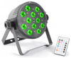 Beamz LED FlatPAR 12 x 3W Tri IR