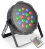 Beamz LED FlatPAR 18 x 1W RGB, DMX, IRC