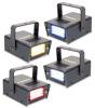 LED Mini Strobe Set 4pcs. W/R/Y/B 24 LED