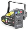 Titania Double Laser RG Gobo IRC