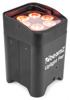Beamz BBP96 Uplight Par 6x12W 6inRGBWA-UV Libatt DMX IRC