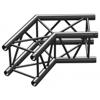 BeamzPro P30-C22B Truss 2 way corner 120' 0,5m Black