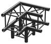 BeamzPro P30-C30B Truss 3 way corner 90'  0,5m Black